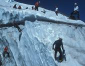 Crevasse Rescue on the Hotlum Glacier