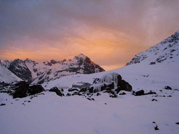 Portillo Sunset Chile