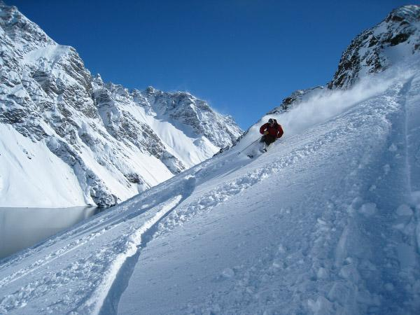 Powder. Portillo Chile