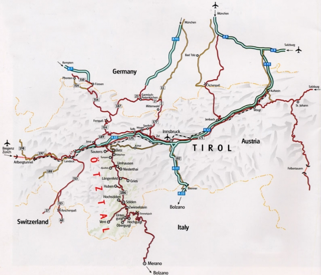 Ortler map