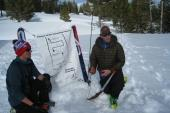 Avalanche education - Beacon searching