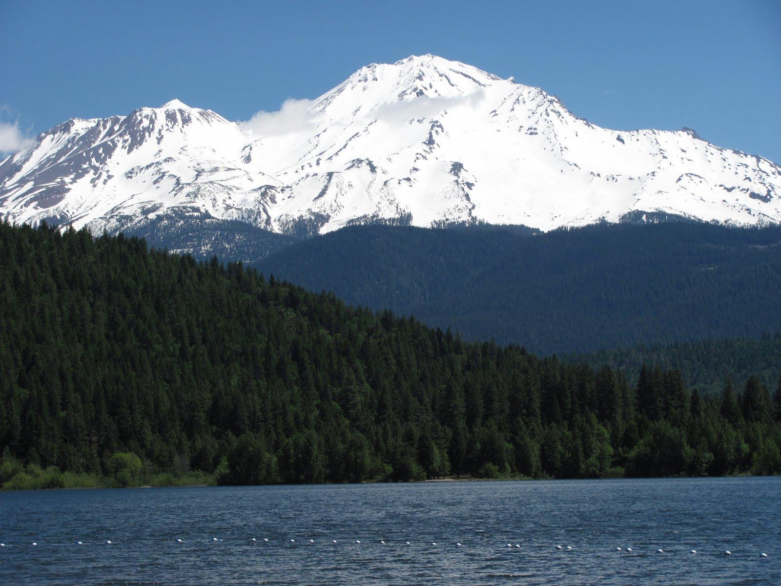 Shasta from lake Siskiyou